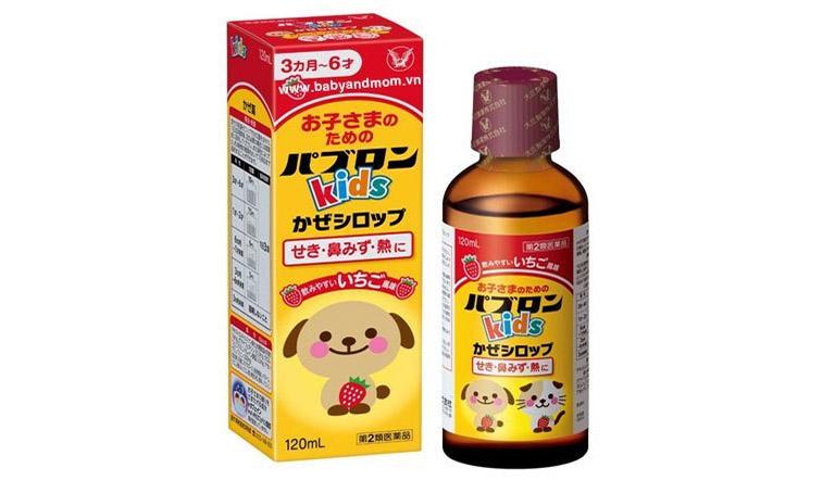 Thuốc ho Paburon S là dòng sản phẩm của hãng Pabron - Nhật Bản được chỉ định để điều trị bệnh ho cho trẻ sơ sinh và trẻ em dưới 6 tuổi