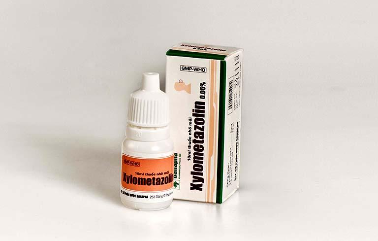 Thuốc điều trị tình trạng chảy nước mũi Xylometazolin