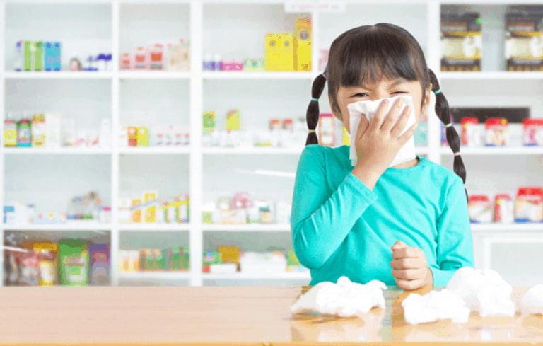 Trẻ nhỏ dễ mắc viêm xoang