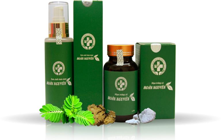 Hoàn Nguyên được bào chế từ nhiều loại thảo dược có cộng dụng điều hòa nội tiết