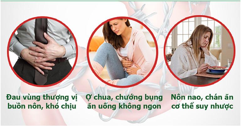 Những triệu chứng điển hình của trào ngược dạ dày