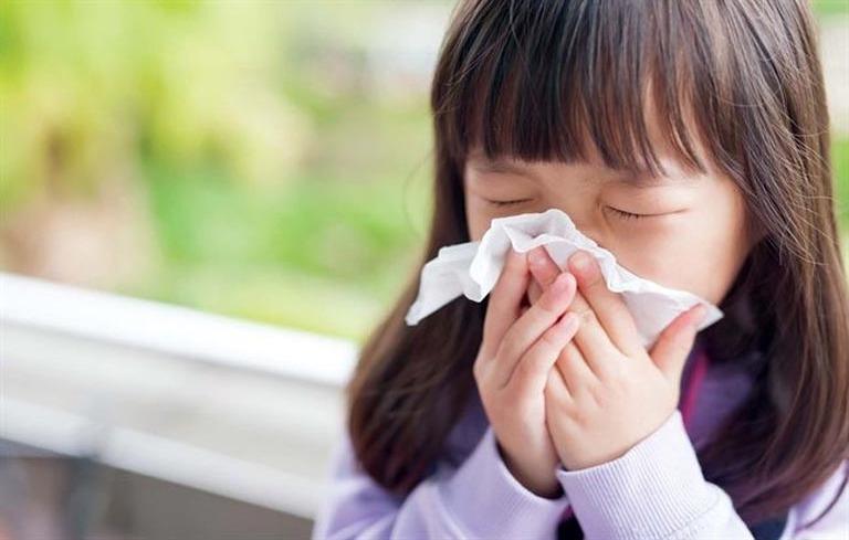 Viêm mũi dị ứng ở trẻ em là tình trạng bệnh đường hô hấp phổ biến