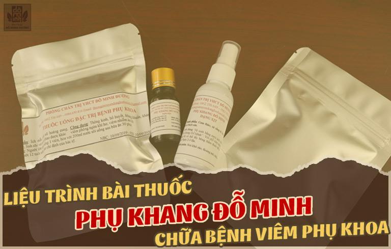 Thuốc Đông y chữa viêm phụ khoa