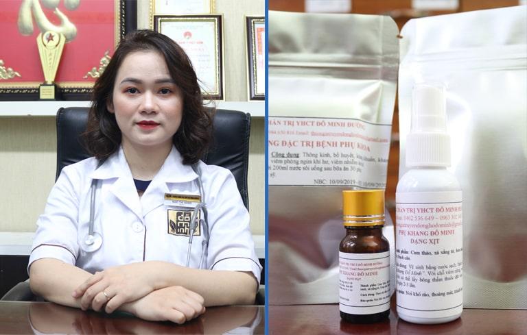 Viêm phụ khoa khi mang thai dùng thuốc nam