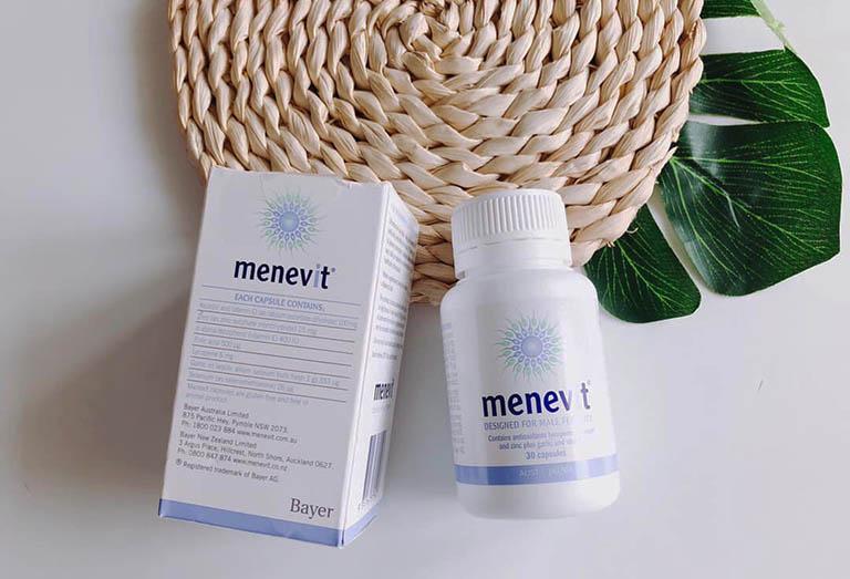 Sản phẩm Menevit là thực phẩm bảo vệ sức khỏe dành cho nam giới được bào chế dưới dạng viên nang