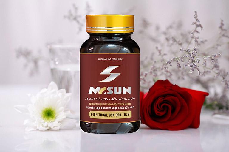 Viên uống Mr Sun - Tìm lại sự mãnh hổ cho quý ông trong chốn phòng the chỉ với một liệu trình