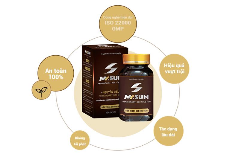 Những ưu điểm vượt trội của sản phẩm viên uống tăng sinh lý nam Mr Sun
