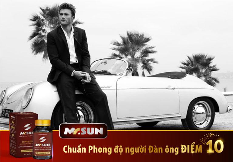 Sản phẩm Mr Sun giúp nam giới lấy lại phong độ chỉ sau một liệu trình sử dụng