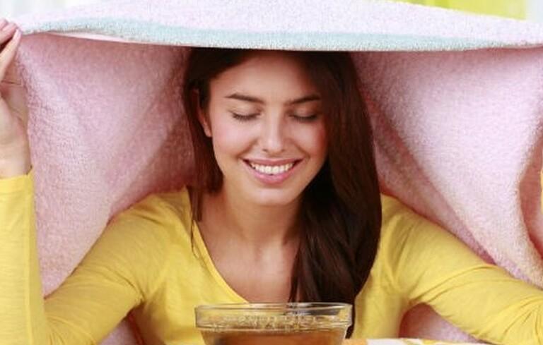 Xông hơi giúp giảm triệu chứng khó chịu nhanh chóng