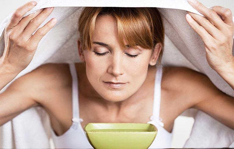 Xông hơi đẩy lùi triệu chứng viêm xoang