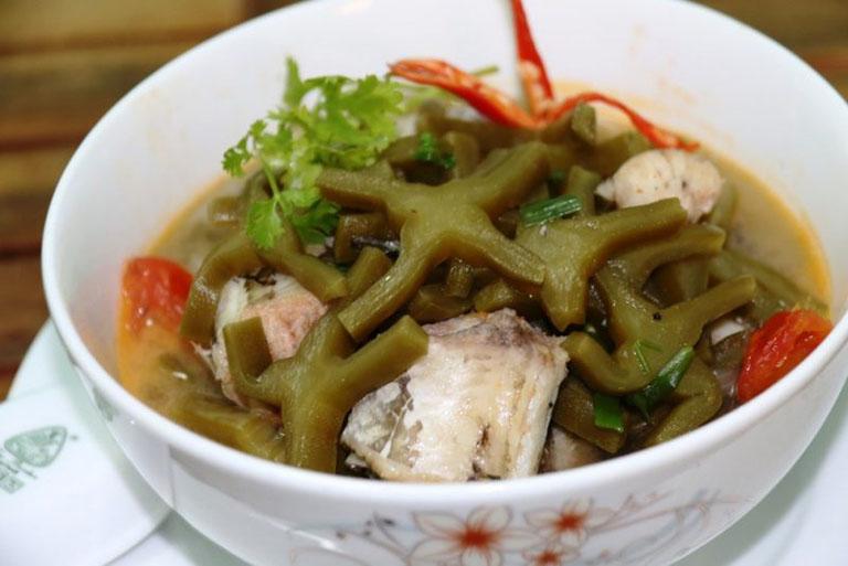 Xương rồng nấu cá lóc là món ăn chữa thoát vị đĩa đệm rất tốt