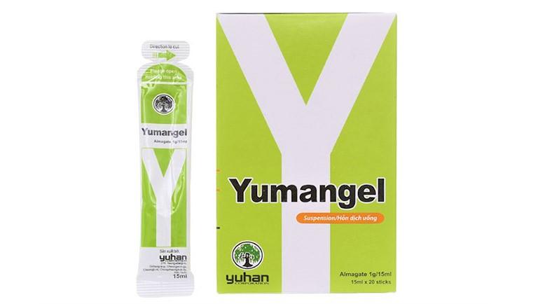 Thuốc đau dạ dày chữ Y - Yumangel