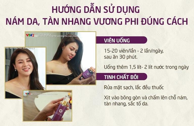 """Vương Phi trở thành """"cứu tinh"""" giúp loại bỏ nám da, tàn nhang của diễn viên Lương Thu Trang"""