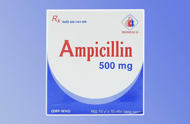 Thuốc Ampicillin 500mg - Thành phần, công dụng và tác dụng phụ