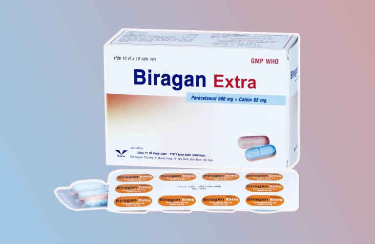 Thuốc Biragan Extra - Công dụng, chỉ định và liều dùng