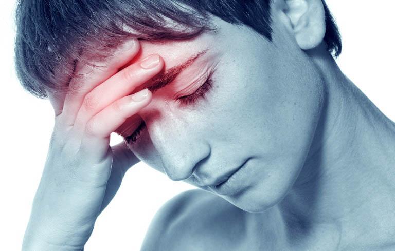 Viêm đa xoang nhức đầu là một trong những triệu chứng điển hình của bệnh