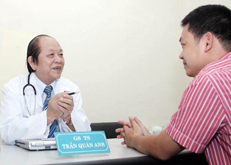 Bác sĩ Trần Quán Anh chữa yếu sinh lý