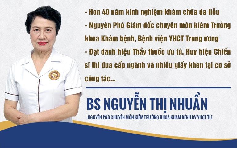 Bác sĩ Nguyễn Thị Nhuần - bàn tay vàng giúp bạn thoát khỏi mụn trứng cá
