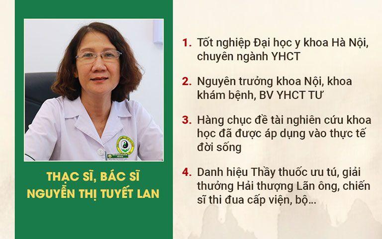 Chân dung và chức vụ đảm nhận của Ths.Bs Tuyết Lan trong lĩnh vực YHCT