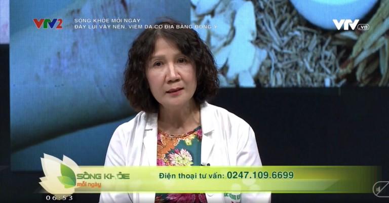 VTV2 giới thiệu bài thuốc chữa vảy nến, viêm da cơ địa