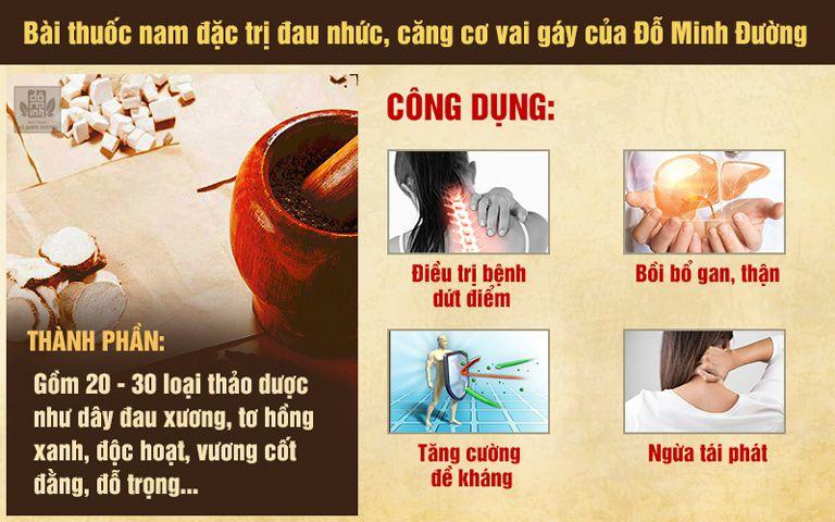 Bài thuốc Nam gia truyền của Đỗ Minh Đường giúp giảm nhanh các cơn đau vai gáy