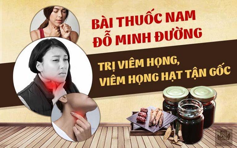 Bài thuốc nam gia truyền chữa viêm họng của Đỗ Minh Đường
