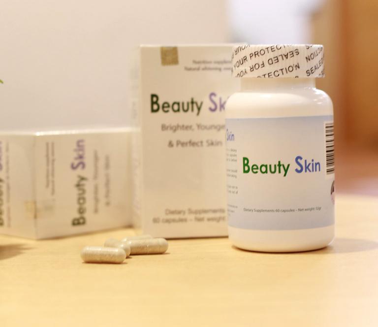 Beauty Skin là loại thuốc uống trị nám chân sâu hiệu quả