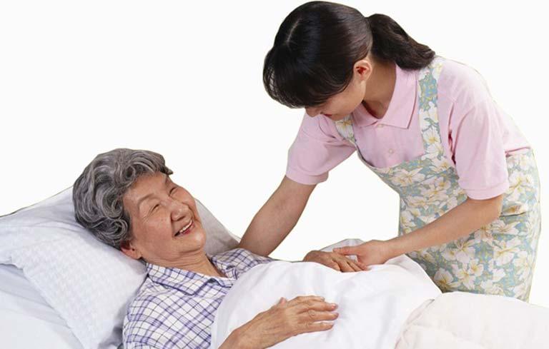 Bệnh nhân tai biến cần có chế độ chăm sóc hợp lý