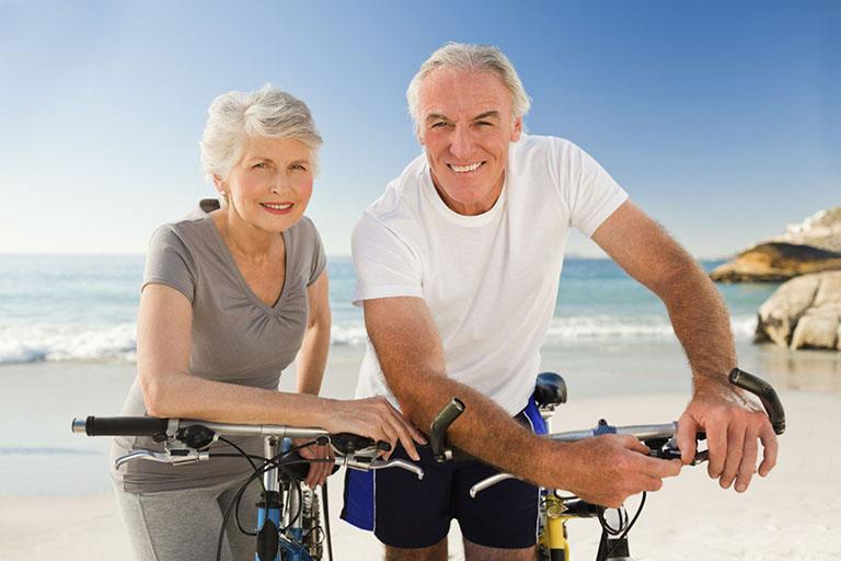 Chạy xe đạp khi bị đau khớp gối