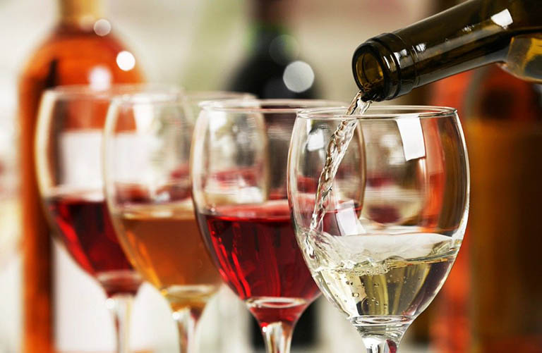 Rượu và các loại thực phẩm có chứa rượu