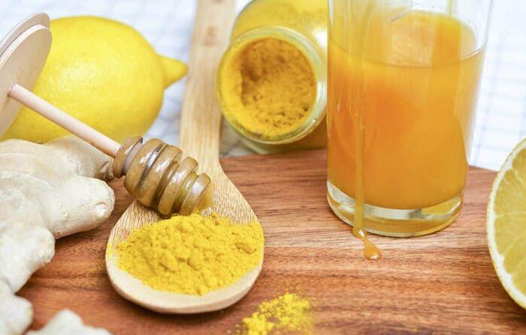 Nghệ và mật ong giảm đau dạ dày