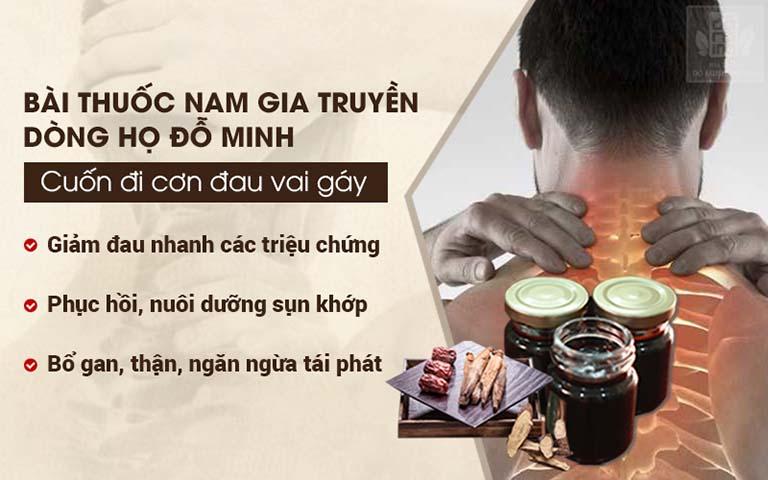Bài thuốc Nam gia truyền chữa đau vai gáy của Đỗ Minh Đường
