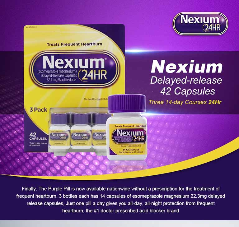 Giảm nhanh triệu chứng ợ hơi, ợ chua nhờ thuốc Nexium