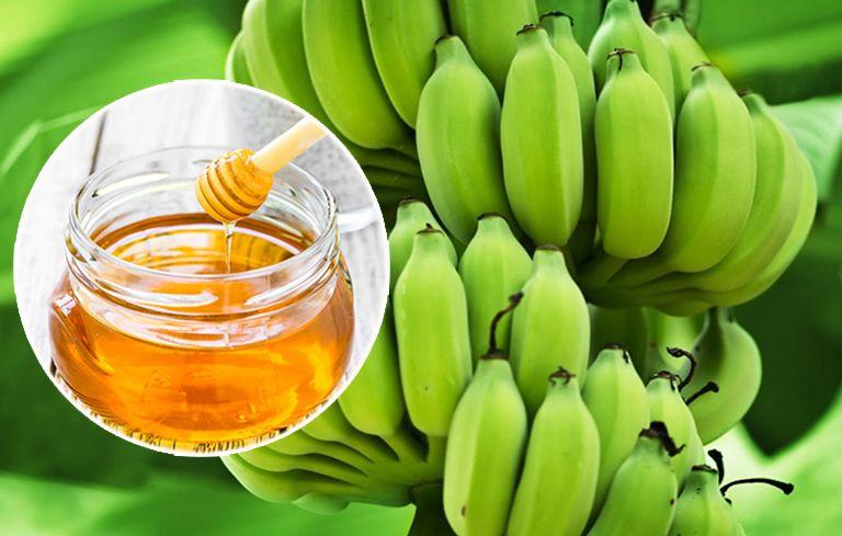 Chuối xanh và mật ong là một bài thuốc dân gian điều trị dạ dày hiệu quả
