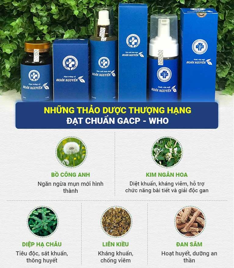 Công dụng của một số thảo dược thiên nhiên trong Hoàn Nguyên