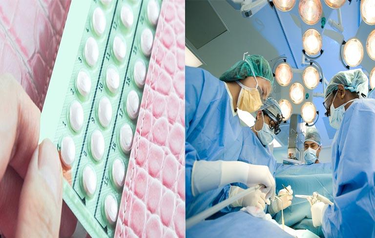 Sử dụng thuốc tránh thai bừa bãi hay làm phẫu thuật và gây ảnh hưởng đến tử cung, buồng trứng cũng là nguyên nhân của hiện tượng này