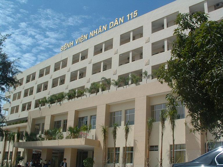 Bệnh viện chữa bệnh cột sống TP HCM