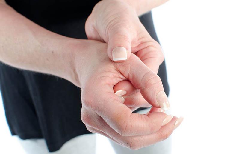 Chẩn đoán đaukhớp ngón tay cái
