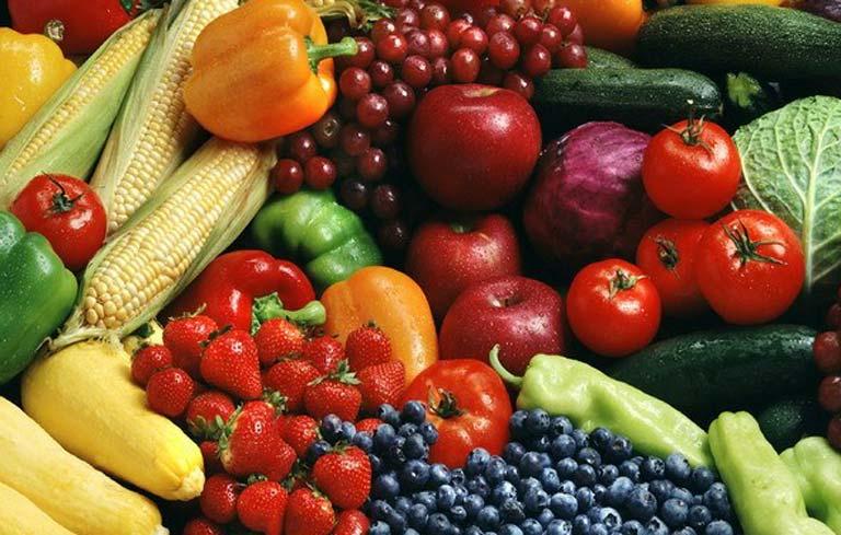 Bệnh nhân tai biến nên ăn nhiều rau xanh và trái cây