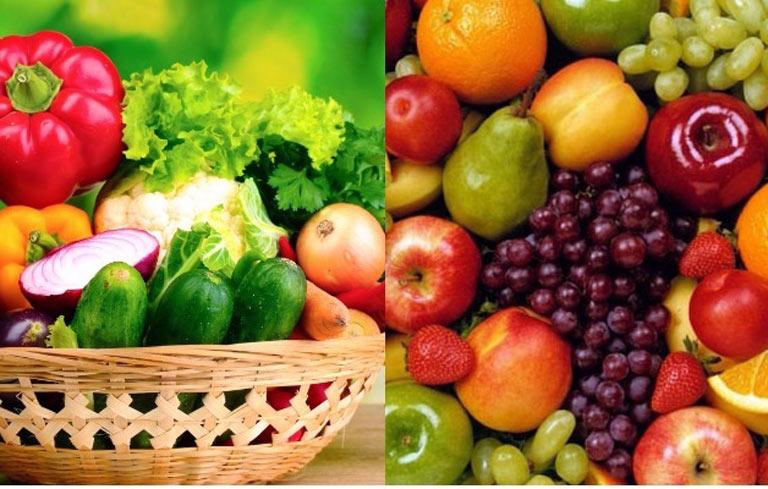 Bệnh nhân tai biến nên ăn nhiều rau xanh, củ quả