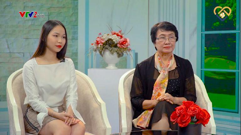 Bạn Huyền Anh chia sẻ về hành trình điều trị mụn bằn Hoàn Nguyên trên VTV2