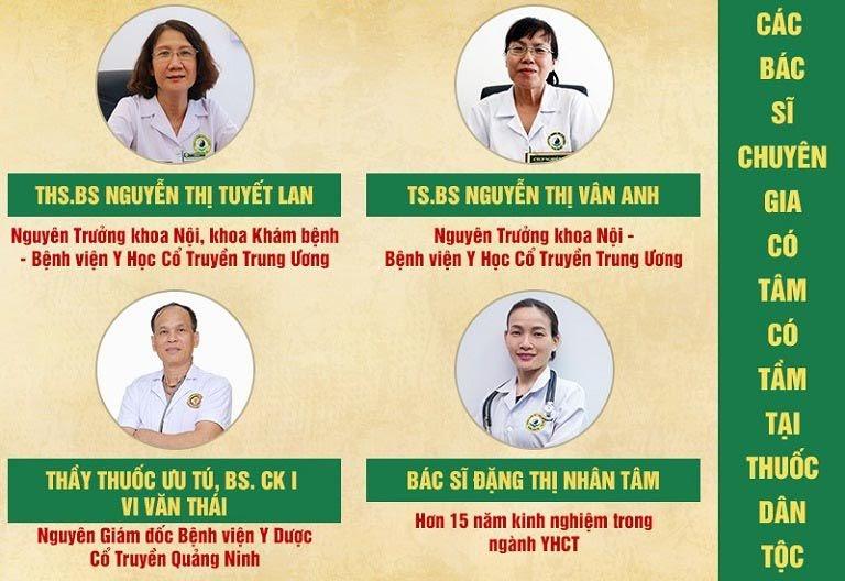 Bác sĩ chữa bệnh trĩ tại Thuốc dân tộc