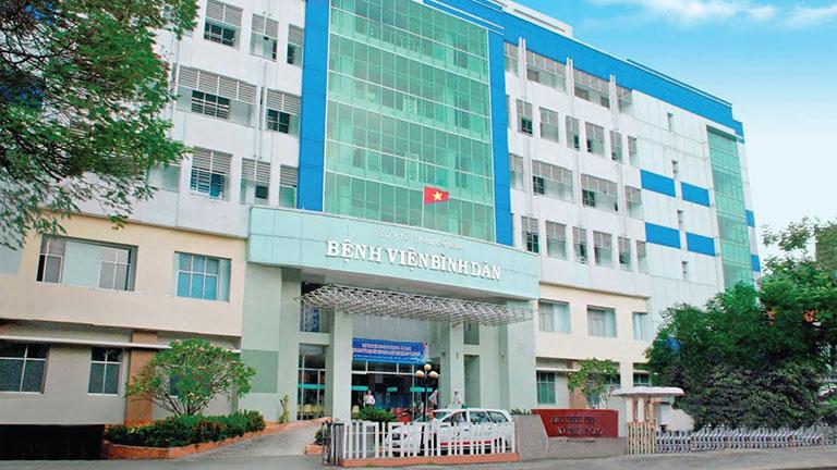 bệnh viện mổ trĩ nội tại TP HCM