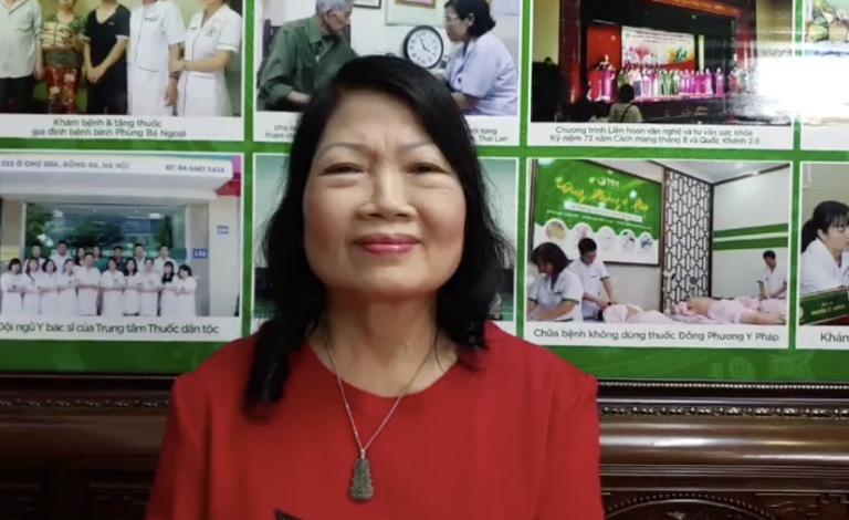 Cô Minh Hiền chia sẻ hành trình thoát khỏi bệnh tật