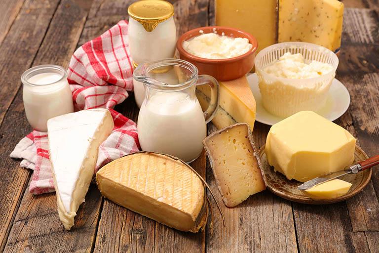Sữa và những chế phẩm từ sữa