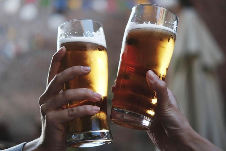 Rượu, bia và những loại thực phẩm có chứa cồn