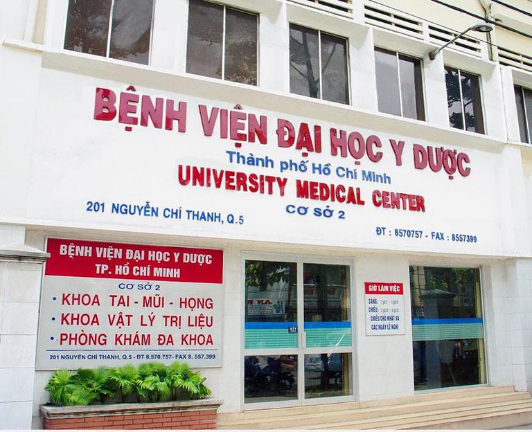 Bệnh viện Đại học Y Dược siêu âm khớp gối