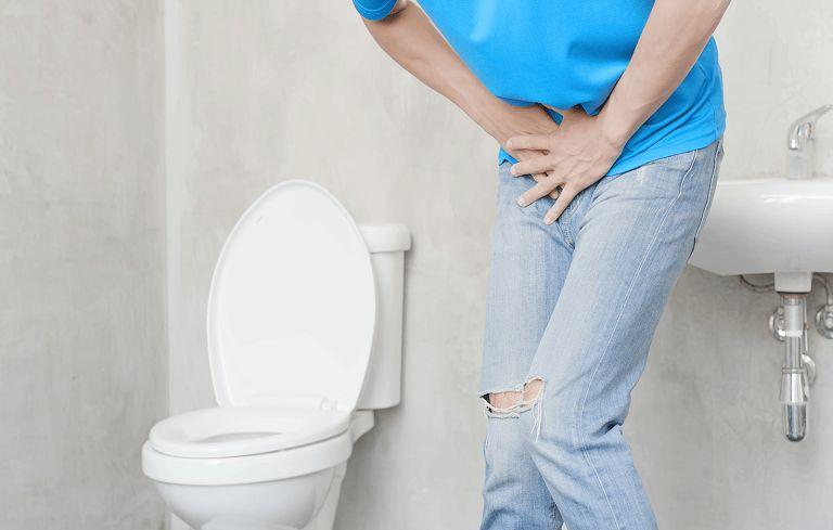 Vô niệu (không thể tiểu tiện) là hiện tượng sỏi gây bí tắc đường tiểu