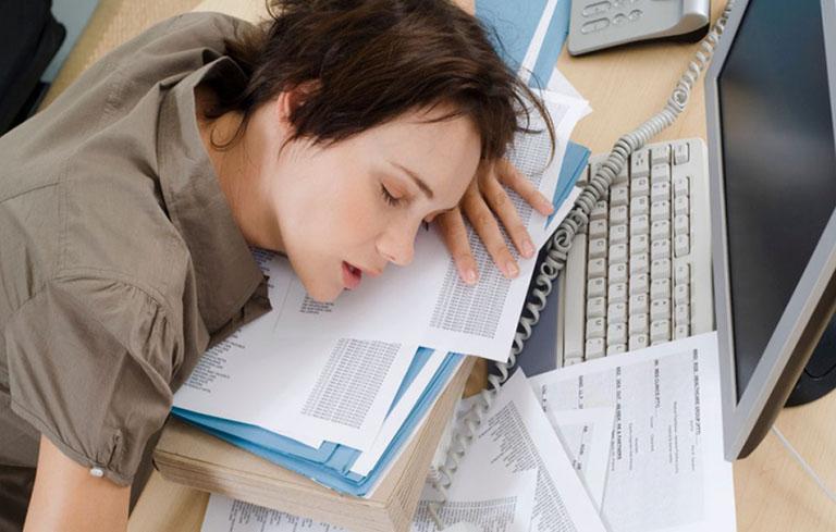 Căng thẳng mệt mỏi khiến cơ thể bị suy nhược