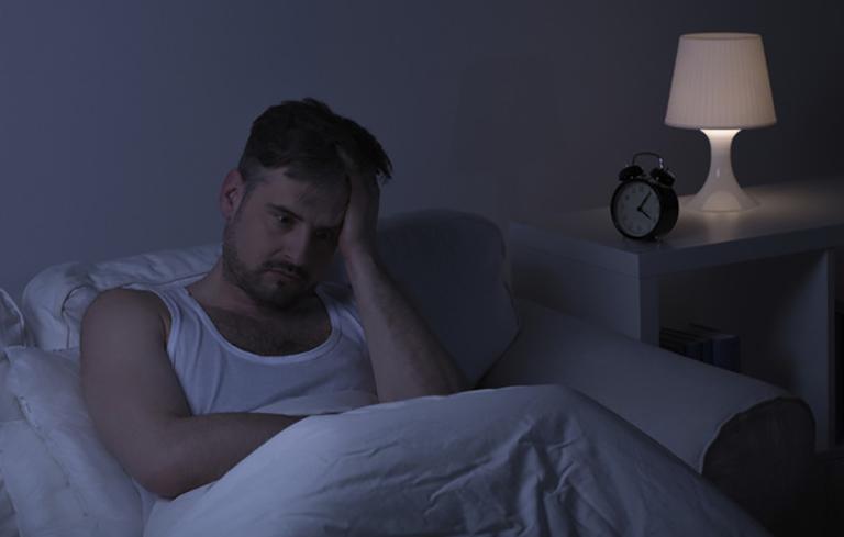 Mất ngủ là dấu hiệu điển hình của bệnh